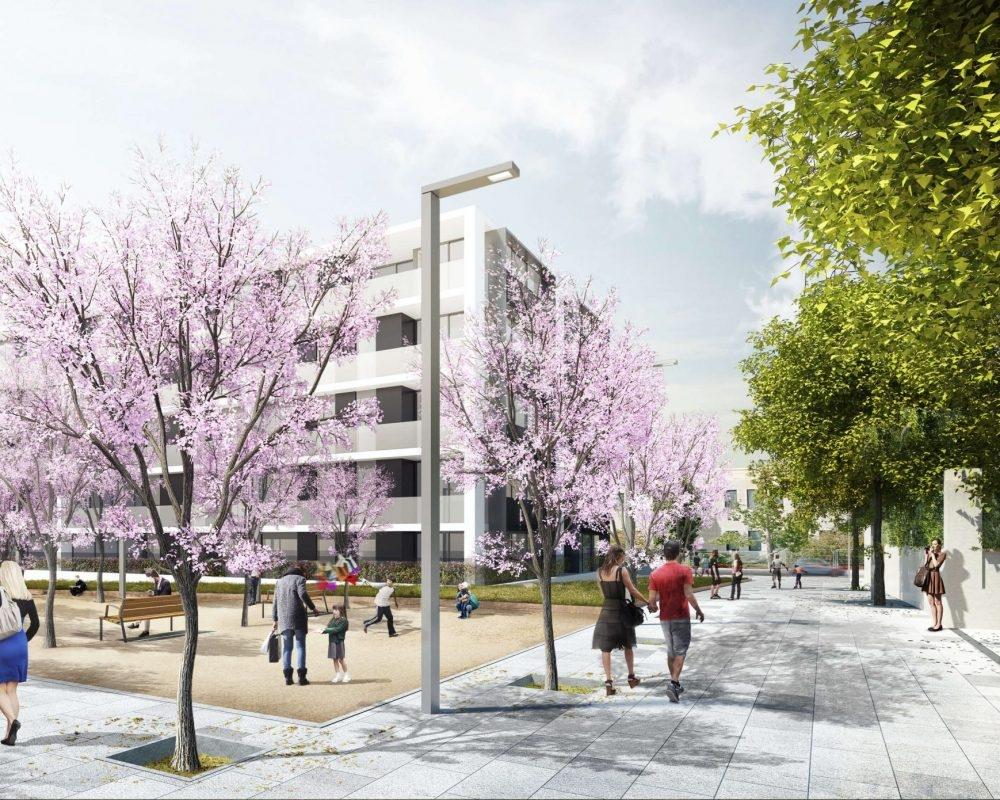 Urbanització Rambla Gaspar Modolell