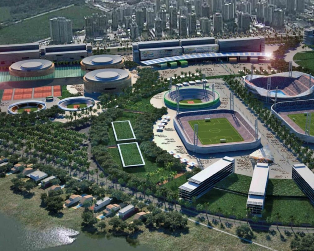 Masterplan Parc Olímpic Rio 2016