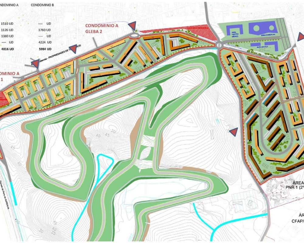 Masterplan nou Autòdrom Rio