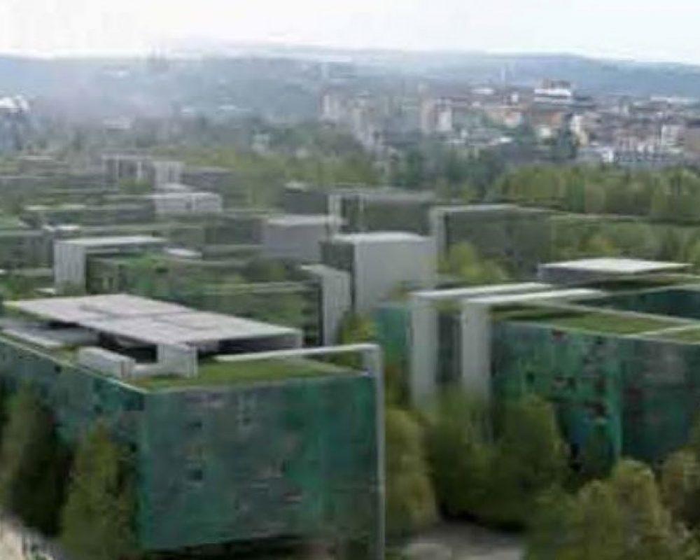 Masterplan Vil·la Olímpica dels Atletes i Candidatura de Praga 2016